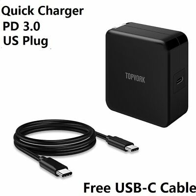 45W Type-C AC Adapter Charger Power Supply For Lenovo Laptop USB-C