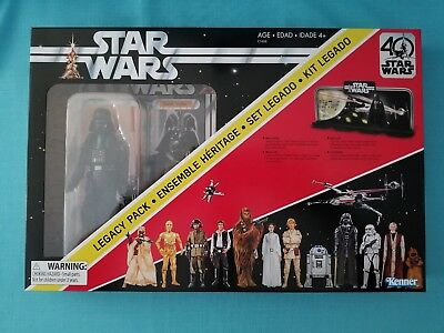 "STAR WARS BLACK SERIES 40th ANNIVERSARY DISPLAY DIORAMA w/ DARTH VADER 6"" FIGURE"
