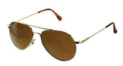 American Optical AO General Gold High Contrast Amber Non-Polarized Sunglasses