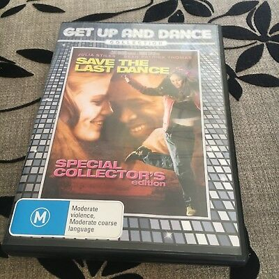 Get Up And Dance Collection. Save The Last Dance Dvd.