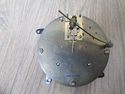 French Japy Freres Platform Escapement Striking Clock Drum Movement Working