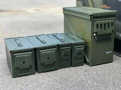 Military Surplus 20-30-50 Cal | Empty Ammo Can Box | FREE SHIPPING