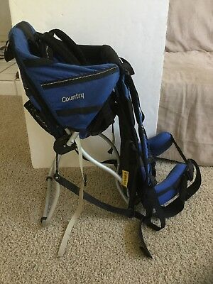 Kelty Kids Country Baby Backpack Child Carrier High Chair Excellent