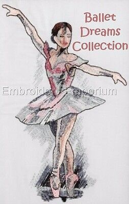Ballet Dreams Collection - Machine Embroidery Designs On Cd