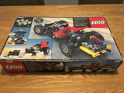Lego Technic 8880 Super Car 100 Complete Boxed With Instructions