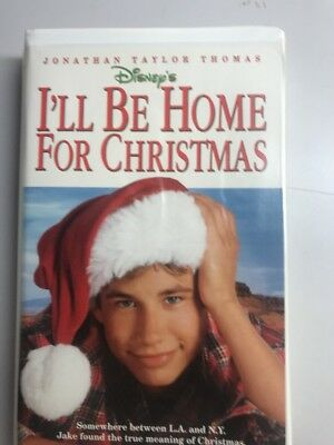 Ill Be Home For Christmas Movie.Walt Disney S Vhs Movie I Ll Be Home For Christmas