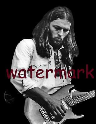 Pink Floyd David Gilmour In Concert Top 3 Guitarist All Time Rare Publicityphoto