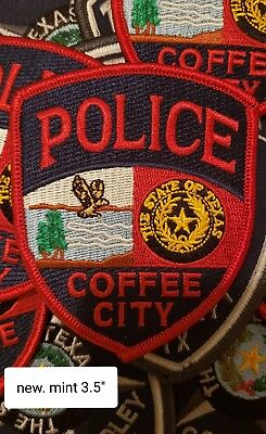 Coffee City Texas Police Patch