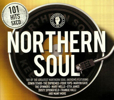 Various Artists : 101 Northern Soul CD (2018)