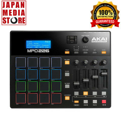 AKAI MPD226 Feature-Packed Highly Playable Pad Controller 100% Genuine