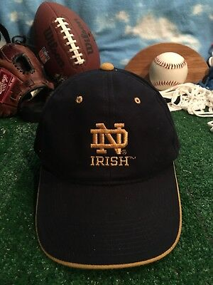 University of Notre Dame Fighting Irish Hat Cap Adjustable H38
