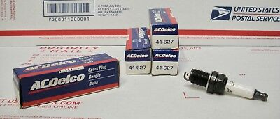 ACDelco 41-627 Spark Plug NOS - LOT of 4 Plugs *see pics NICE*