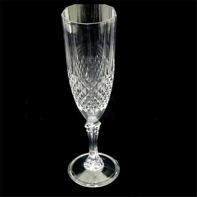 Champagne 210ml 2 4 10 Premium Clear Plastic Disposable Drink Glasses Crystal
