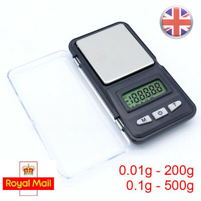 Small 0.01-200g/0.1-500g Mini Digital Pocket Gold Jewelry Weighing Kitchen Scale
