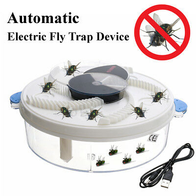 Electric Flycatcher Fly Trap Killer Automatic Mosquito Reject Control Catcher