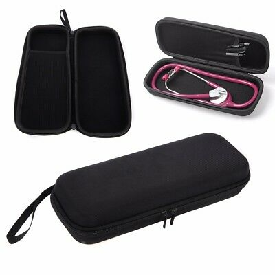 Littmann Lightweight II III SE Double Head Stethoscope Storage Bag Case Black UK