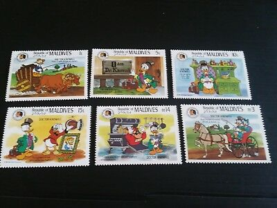 Maldive Islands 1985 Sg 1143-1148 Birth Bicent Of Grimm Brothers Mnh