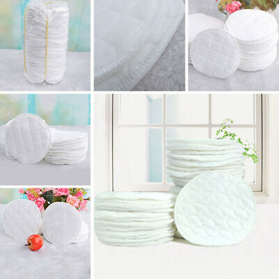 Feeding Nursing Breast Pad Washable Absorbent Breastfeeding Reusable 5PCS Newest