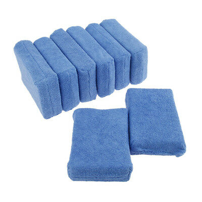 8 Pcs Premium Sponge Cloth Applicators Applying Wax, Sealants, Glazes, Dressings