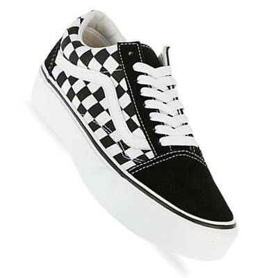 vans old skool black damen plateau