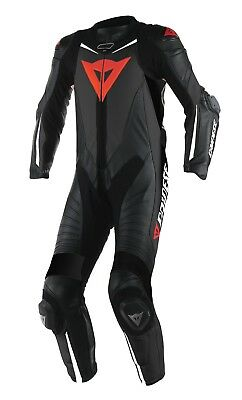 Dainese Laguna Seca D1 Race One 1 Piece Leather Motorcycle Motorbike Suit Perf