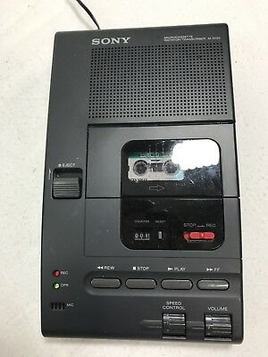 Sony  Microcassette Dictator/Transcriber M 2020 W/out Microphone