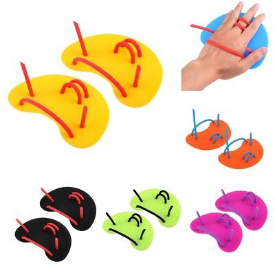 Perfeclan Pro Adult Kids Swimming Hand Paddles Fins Gloves Swim Training Aid