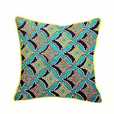 New Handmade African Print/Wax Cotton/Ankara Cushion Cover Dimensions 20×20""