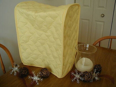 Yellow Mixer / Coffeemaker Etc Appliance Cover, solid fabric