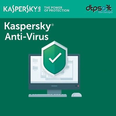 Kaspersky Anti-Virus - 2019 - 3 Pc - 1 An - Kaspersky Anti-Virus 2018 FR EU