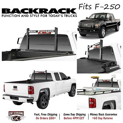 F-450 F-550 10300 BackRack Black Powder Coat SafetyRack fits F-250 F-350