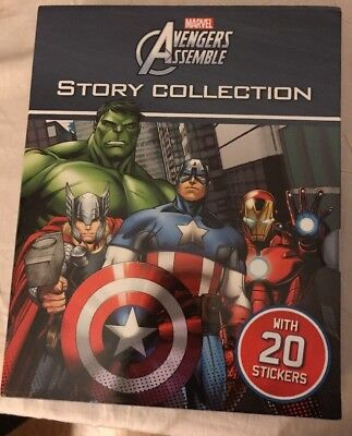 MARVEL AVENGERS ASSEMBLE STORY COLLECTION! 4 Graphic Novels RRP£25