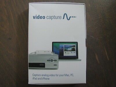 Elgato Video Capture - Capture Analog Video for Mac or PC, iPad and iPhone