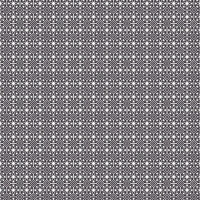 Pvc Table Cloth Geo Star Slate Geometric Tile Print Grey Charcoal White Wipeable
