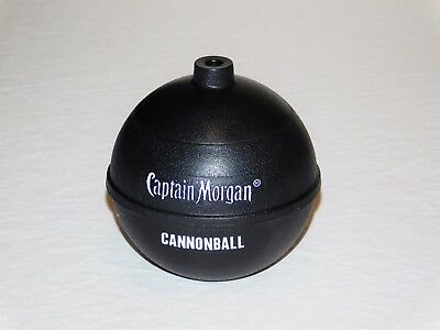 Captain Morgan Cannon Blast Rum 14oz Limited Edition Cannonball Cup NEW RARE