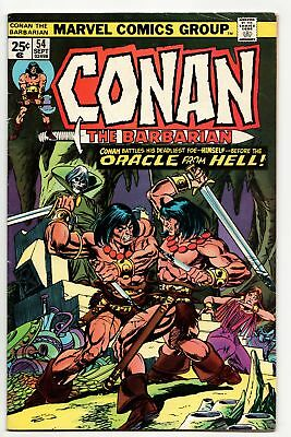 Conan The Barbarian #54 (Marvel, 1975) FN-