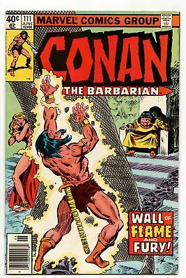 Conan The Barbarian #111 (Marvel, 1980) FN+