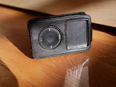 Apple iPod Classic leather cover holder pouch