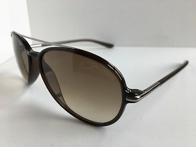a2d3031d22ce TOM FORD OLIVIER TF 236 TF236 05P 58mm Brown Sunglasses Italy T1 ...