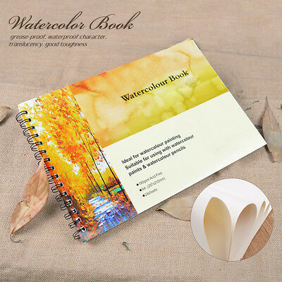 A4 Art Artist Sketchbook Sketch Pad Watercolour Paper Journal For Drawing Craft