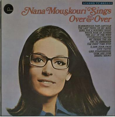 Nana Mouskouri Over & Over vinyl LP album record New Zealand TY885511 FONTANA