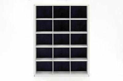 Display Cabinet for up to 15 Models on a Scale of 1:43 White Atlas