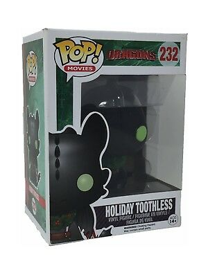 FUNKO POP 232  Dragons Holiday Toothless