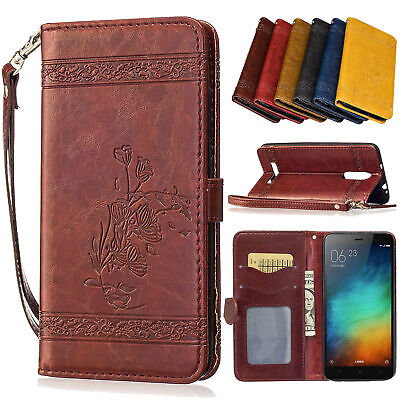 For Xiaomi Redmi 4X/4A/5Plus Mi 5X/A1 Card Holder Wallet Flip Leather Case Cover