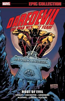 DAREDEVIL EPIC COLLECTION ROOT OF EVIL GRAPHIC NOVEL (440 Pages) New Paperback