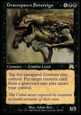 Gravespawn Sovereign ~ Onslaught ~ NearMint/Excellent+ ~ Magic The Gathering