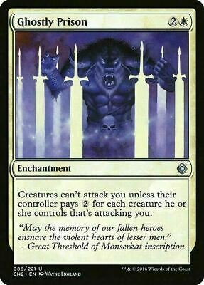 Ghostly Prison ~ Conspiracy 2 ~ MINT/NearMint ~ Magic The Gathering