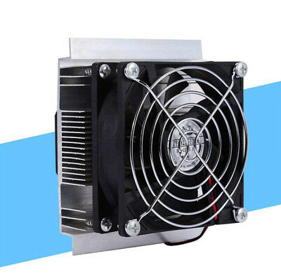 12V 6A Thermoelectric Peltier Cooler Refrigeration Semiconductor Cooling Fan Kit