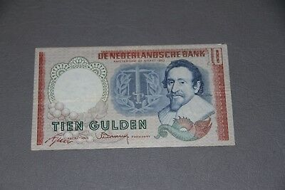 Netherlands Banknote P 85 Replacement 10 Gulden