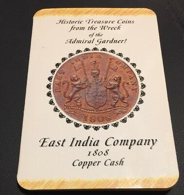 1808 Admiral Gardner Shipwreck Coin East India Company X Cash -CollectorsEdition